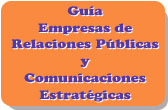 Guía de Empresas de Relaciones Públicas y Comunicaciones Estratégicas